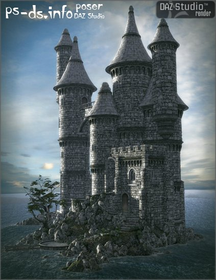 Worlds Of Fantasy : Island Castle