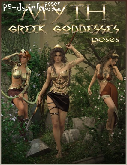 MYTH - Greek Goddesses Poses