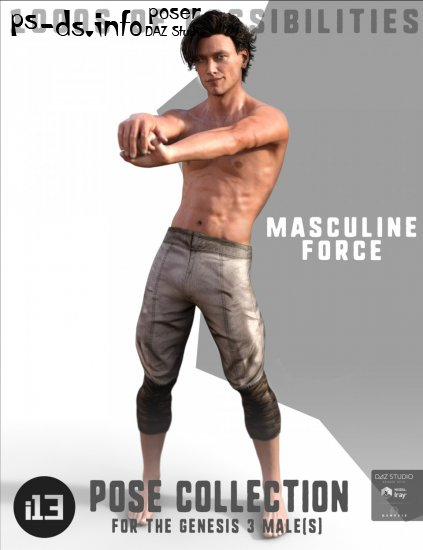 i13 Masculine Force for the Genesis 3 Male(s)