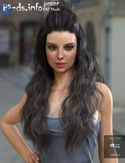 Daz Bblythe Hair For Genesis 8 Female S 445 Mb