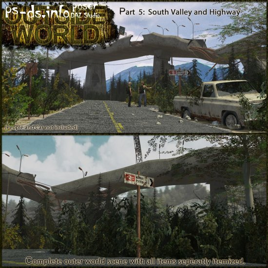 Outside World: Part5 - South Valley and Highway