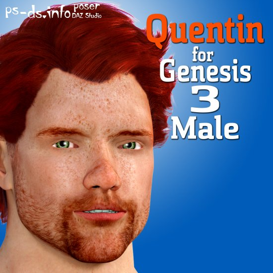 Quentin for Genesis 3 Male