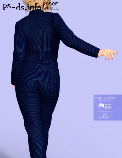 H&C Business Suit for Genesis 3 Female(s)