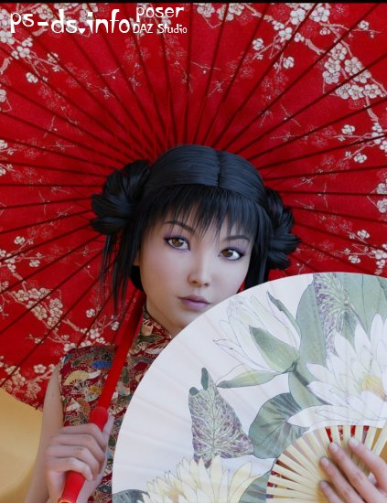 Oriental Umbrella and Fans