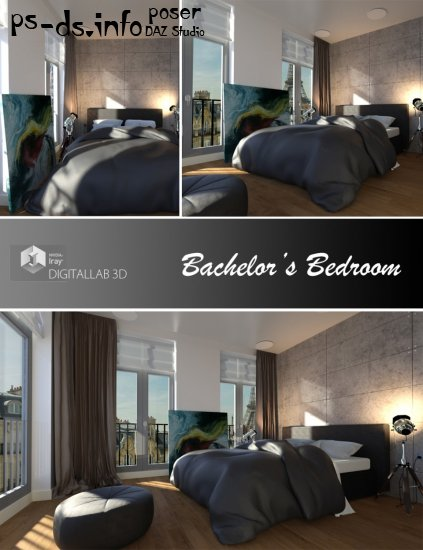 Bachelor's Bedroom