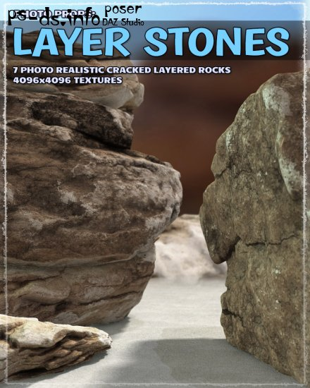 Photo Props: Layer Stones