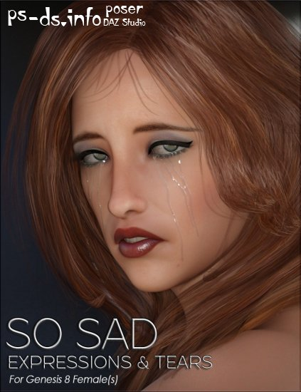 So Sad Expressions & Tears for Genesis 8 Female(s)
