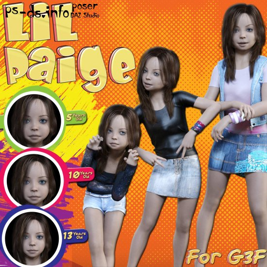 Lil Paige for G3F