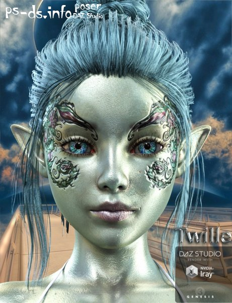 Twille for Genesis 3 Female