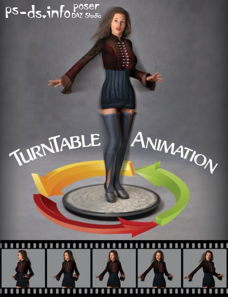 360 Rotating Turntable Animations
