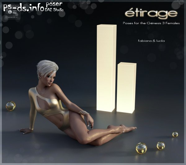 Etirage Poses for G3F