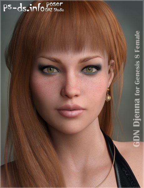 GDN Djenna for Genesis 8 Female