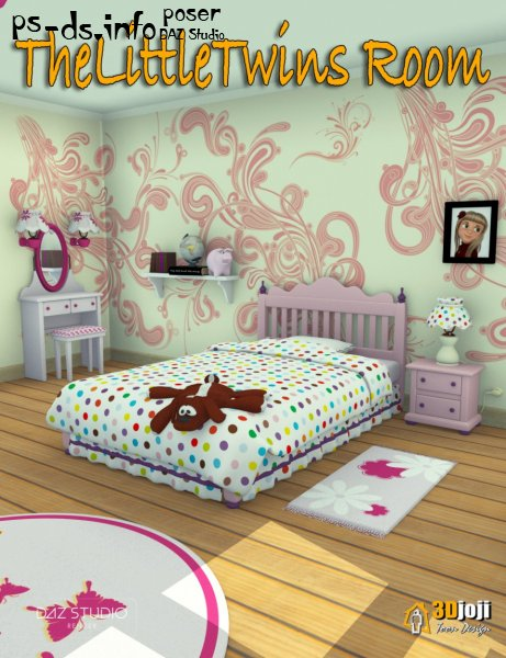 The Little Twins Room