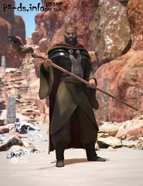 Desert Mage for Genesis 3 Male(s)