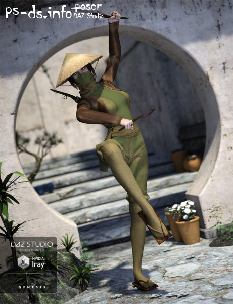 Insurgent Geisha for Genesis 3 Female(s)