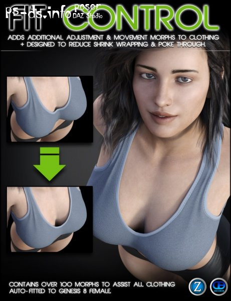 Fit Control for Genesis 8 Female(s) (v1.2)