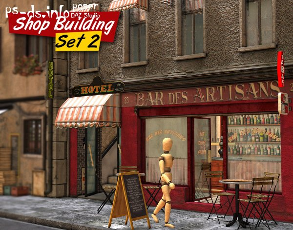Shop Building Set 2