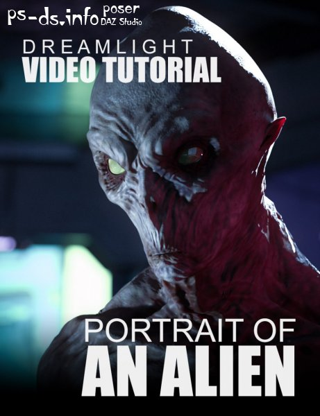Portrait Of An Alien - Video Tutorial