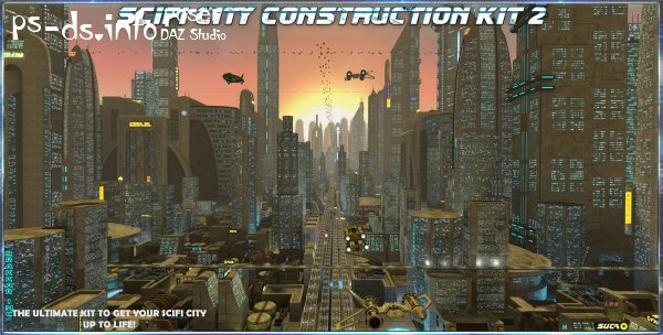 SciFi City Construction Set 2