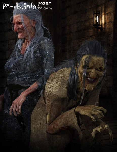 Hag HD for Genesis 3 Female
