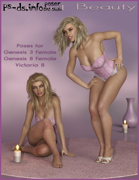 Perfect Beauty - Poses for Genesis 3 and 8 Female(s)