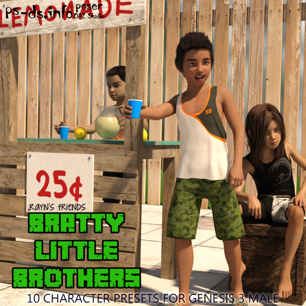 Rayn's Friends - Bratty Little Brothers