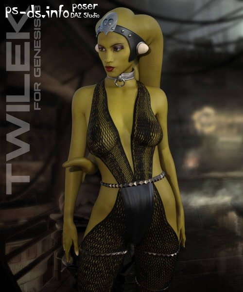 Twilek for Genesis 3 Female