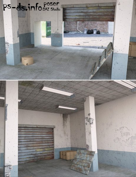 Industrial Storage Unit Interior