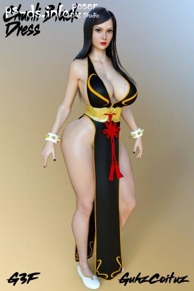 Chun li black outfit
