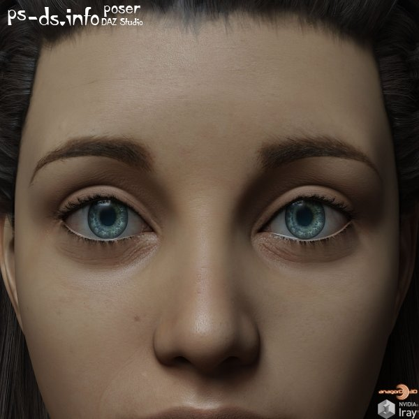 Eyes,Eyebrows&Lashes Morphs for G8F Vol 1,2,3