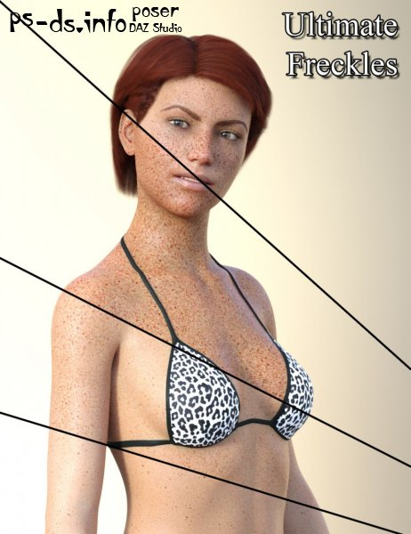 Ultimate Freckles for Genesis 8 and 3 Females and Males