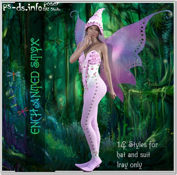 Enchanted - 14 Styles for Styx G3 G8