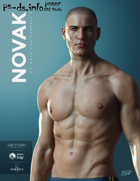 Novak for Genesis 8 Male