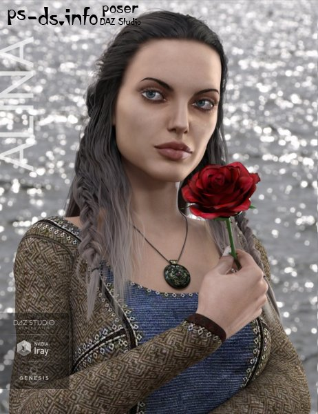 Alina for Genesis 8 Female