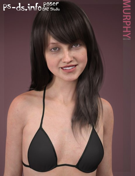 Murphy HD & Signature Smile HD Expression for Genesis 8 Female