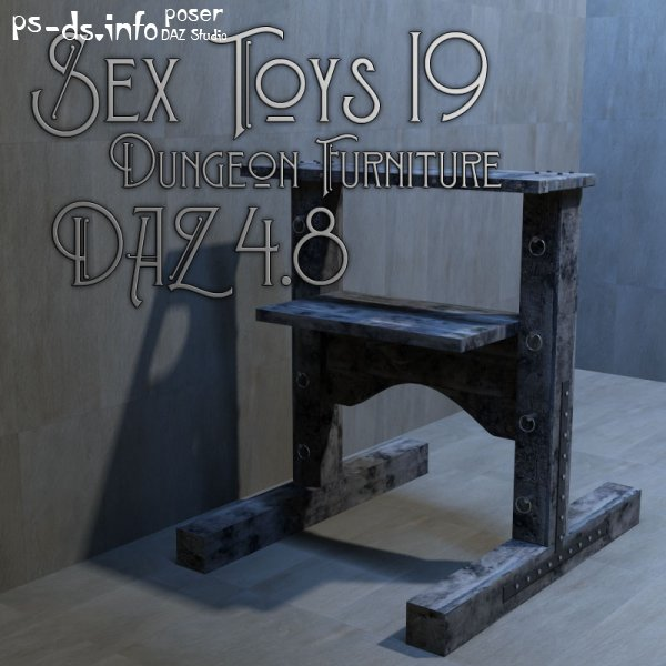 Sex Toys 19 - Dungeon Furniture 4