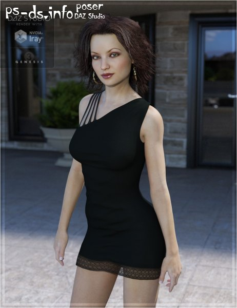 Manhattan Dress for Genesis 3 Female(s)