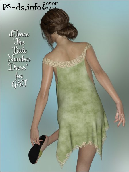 dForce - The Little Number Dress for G8F