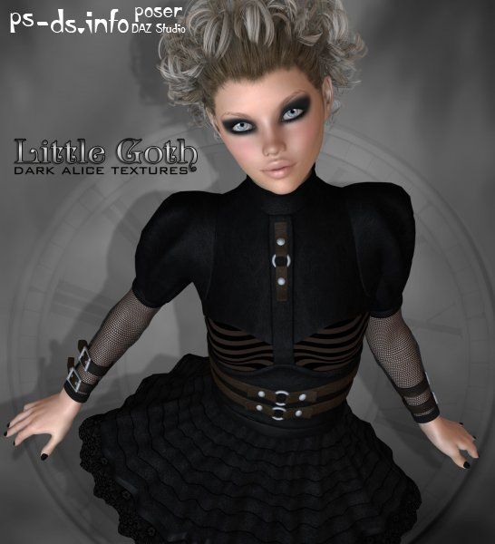 RP Dark Alice - Little Goth Textures
