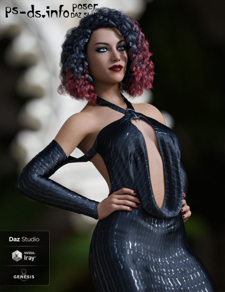Slinky Dress Texture Addon