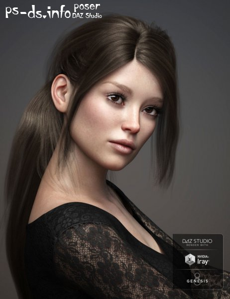 Raquel HD For Genesis 3 and 8 Female