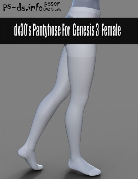 dx30's Pantyhose For Genesis 3 Females