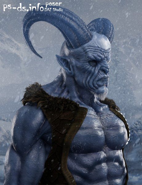 Krampus HD for Genesis 8 Male