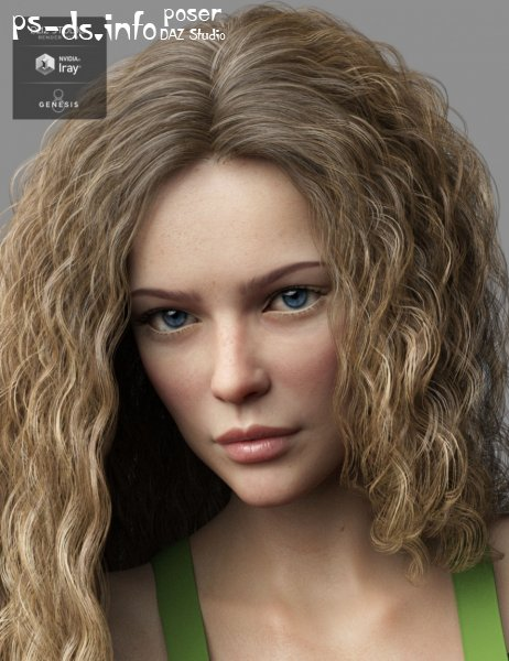 Murielle HD for Genesis 8 Female