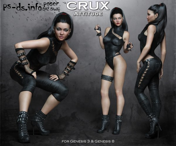 CruX Attitude for the Genesis 3 and Genesis 8 Females