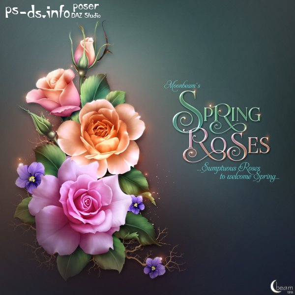 Moonbeam's Spring Roses