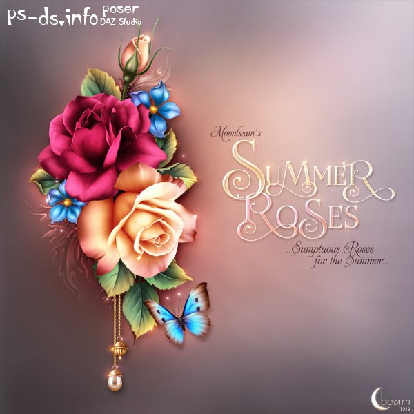 Moonbeam's Summer Roses