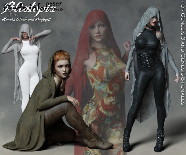 Blisstopia dForce Cloak and Bodysuit