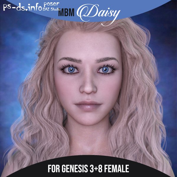 MbM Daisy for Genesis 3 and 8 Female