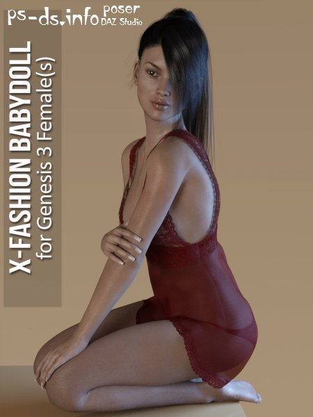 Fashion Babydoll for Genesis 3 Females